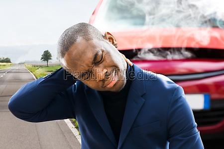 hurt neck pain and stress near