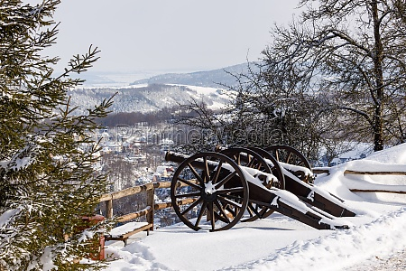 the old cannons of the wartburg