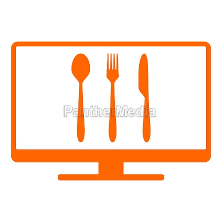 cutlery and screen