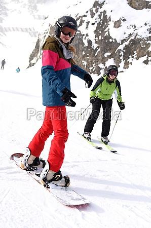 wintersport in OEsterreich schigebiet kasberg gruenau