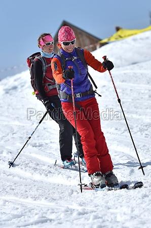 wintersport in OEsterreich schigebiet krippenstein obertraun