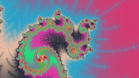 mandelbrot fractal circular pattern infinite spiraals