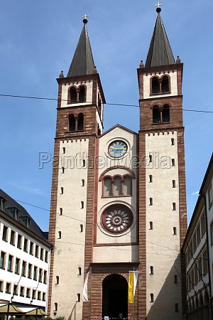 wurzburg cathedral bavaria germany