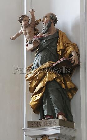 saint matthew the evangelist basilica of