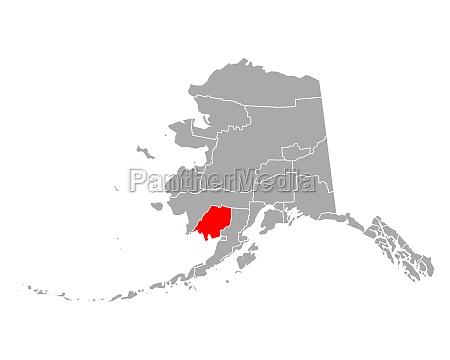 map of dillingham in alaska