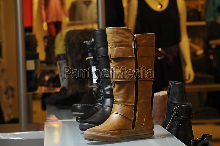 boots as trading goods in shoe