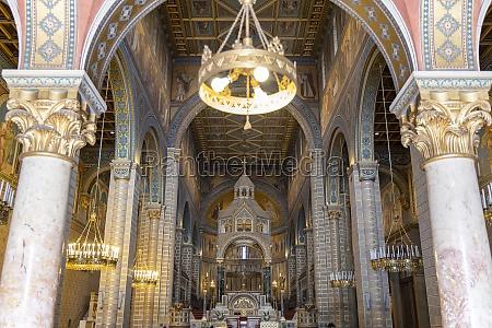 interior of pecs cathedral baranya county