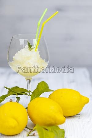 still life with lemon sorbet