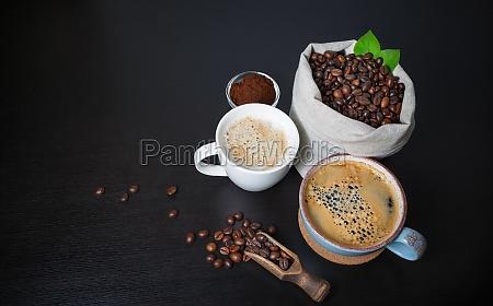 making coffee still life