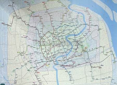 metro network map at peoples square