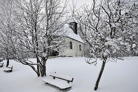 winter auf dem gahberg weyregg bezirk