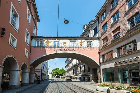 architecture of munich bavaria germany