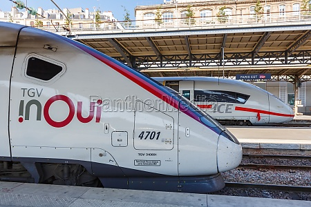 french tgv and german ice high