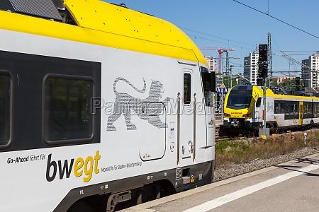 regional train go ahead trains go