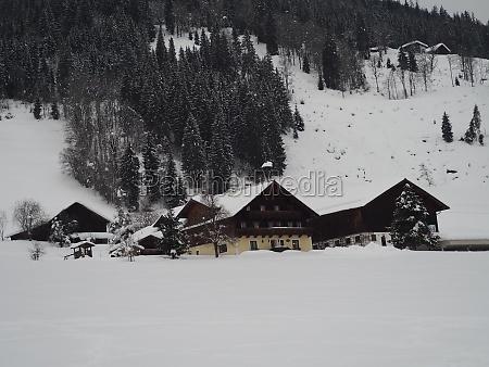 zauchensee ski resort in winter ski