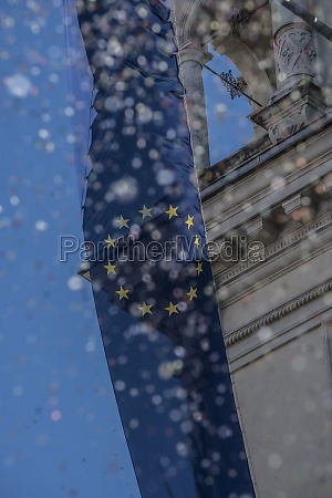 european union flag representing the eu