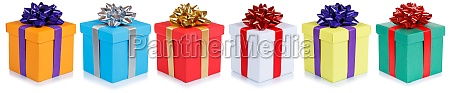 christmas gifts birthday presents in a