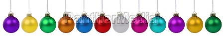 christmas balls baubles banner ball bauble
