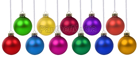 christmas balls baubles time decoration hanging