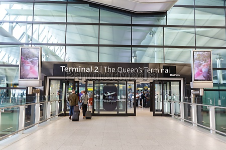 london heathrow lhr airport terminal 2