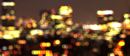 new york city out of focus