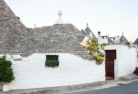 trulli the typical old houses in