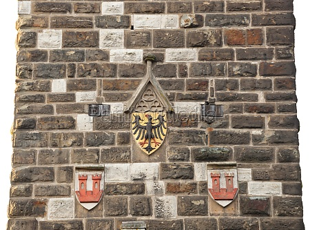 eagles emblem on the wall in