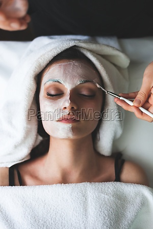 facial beauty mask for young