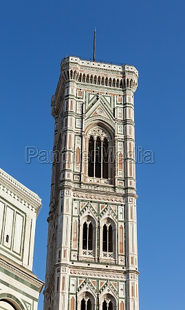 giottos bell tower florence italy