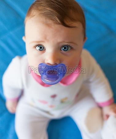 portait of beautiful baby girl