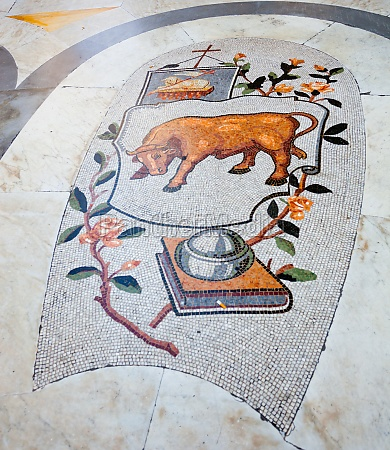 mosaic of umberto i gallery in