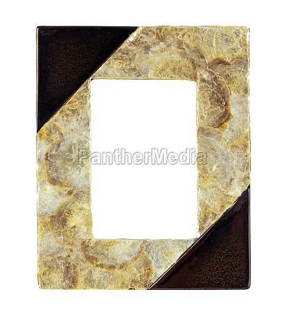 photo frame made nacre