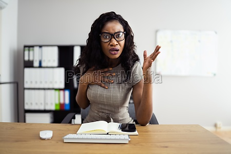angry sad arguing with boss woman
