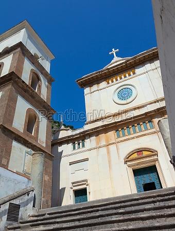 santa maria assunta church in positano
