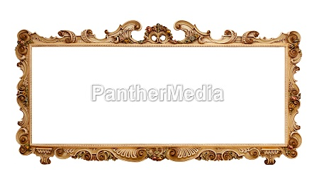 big picture frame baroque style