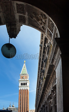 bell tower of st marks basilica