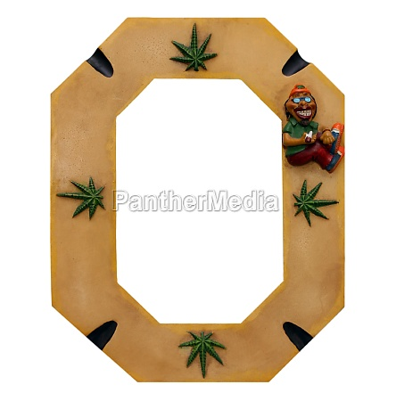 cannabis picture frame