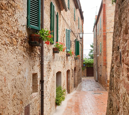 old town pienza in tuscany