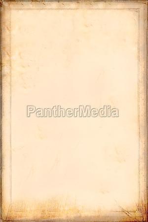 antique yellowish parchment paper