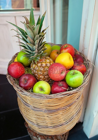 basket of fruit