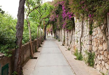 via tragara the famous street of