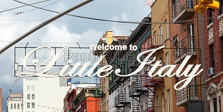 welcome to little italy sign in