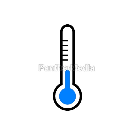 thermometer and background