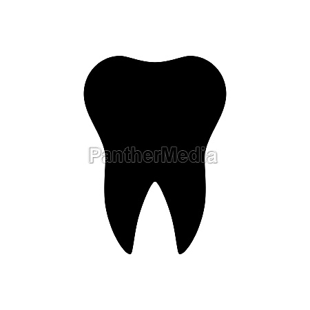 tooth and background