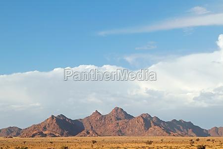 rugged mountain landscape namib desert