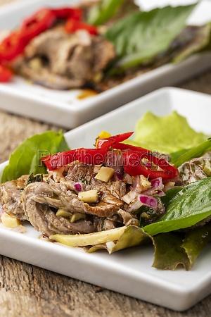 thai meat salad