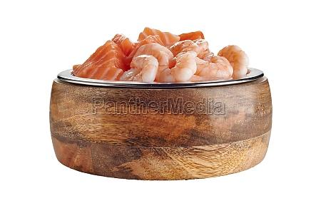 fresh gourmet seafood pet food for