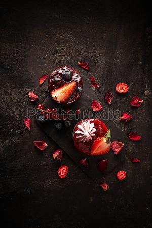 sweet dessert composition