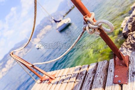 sailing wooden dock pier sailing boats