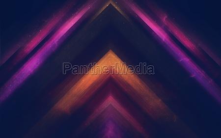triangle color burst
